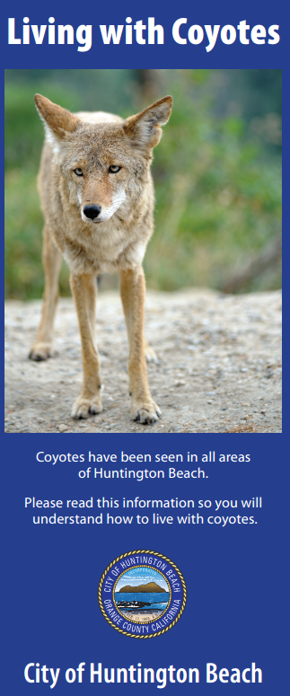 Notice from the city of Huntington Beach
